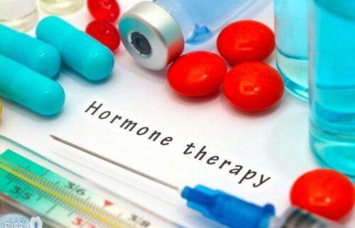 العلاج الهرمونى