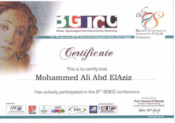 8th BGICC conference