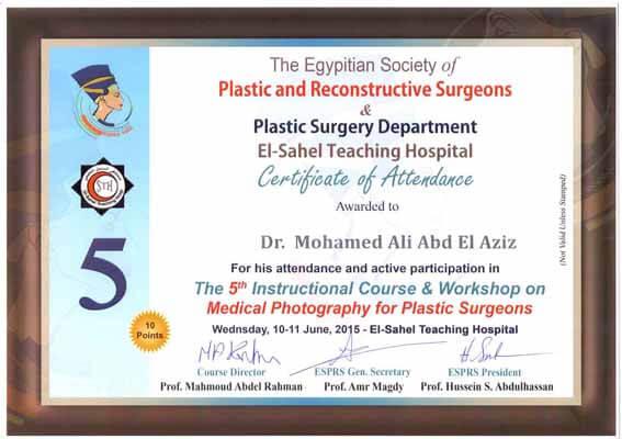 Plastic surgery department - El-Sahel Teaching Hospital